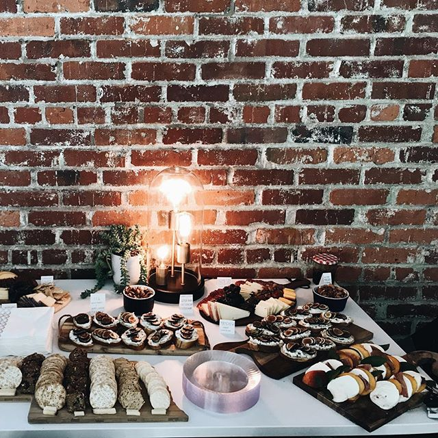 we had the best of the best @dwelldinnerco, @goldenrodpastries and turkish sweets make the food/dessert four our opening night last night!