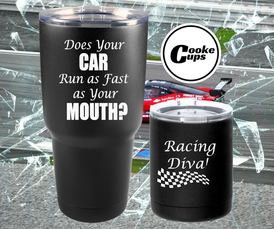 Cooke Cups Racing Ad Made for Social Media