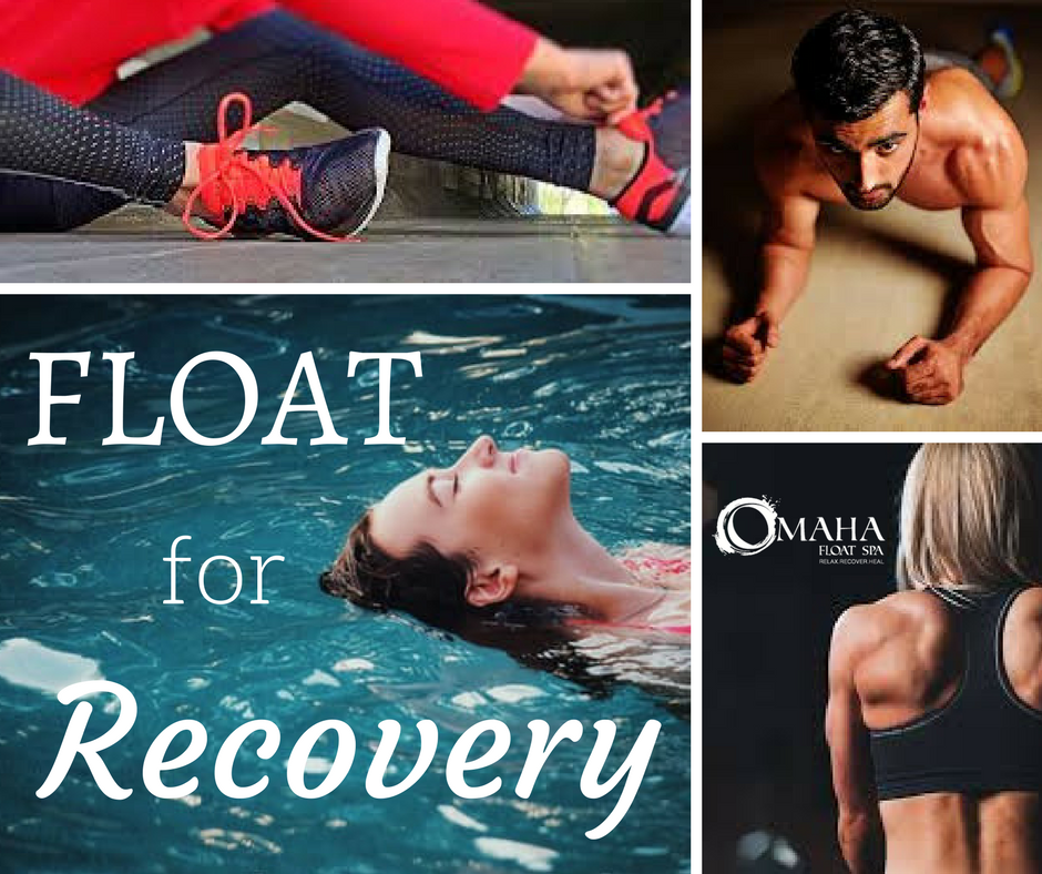 Social Media Ad for Omaha Float Spa featuring people working out