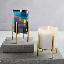 Iridescent Candles