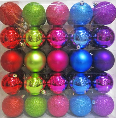 Plastic ornaments