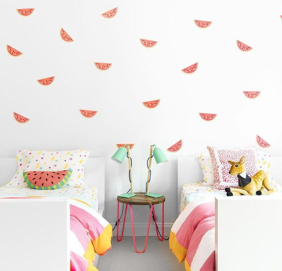 This room by Change and co was designed by Susan Chango, and I think we can all agree it's nothing short of adorable.