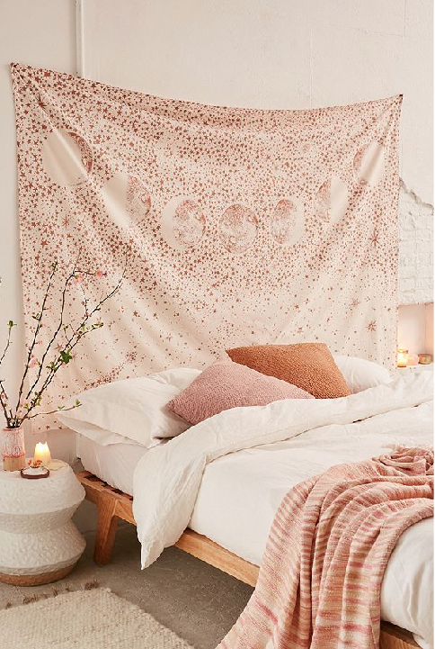 Urban Outfitters has all kinds of beautiful Tapestries that are sure to add character to any room.