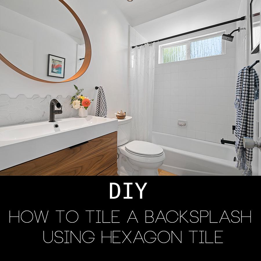 DIY Hexagon tile backsplash .jpg
