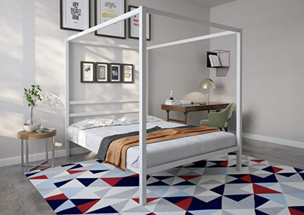 Amazon sells everything these days, including beds! How cute would this one be in a teenagers room? I know I always wanted a canopy bed when I was younger. This one is a real bargain at only $139!