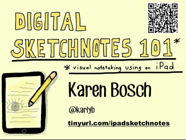 Digital Sketchnotes 101 by Karen Bosch -