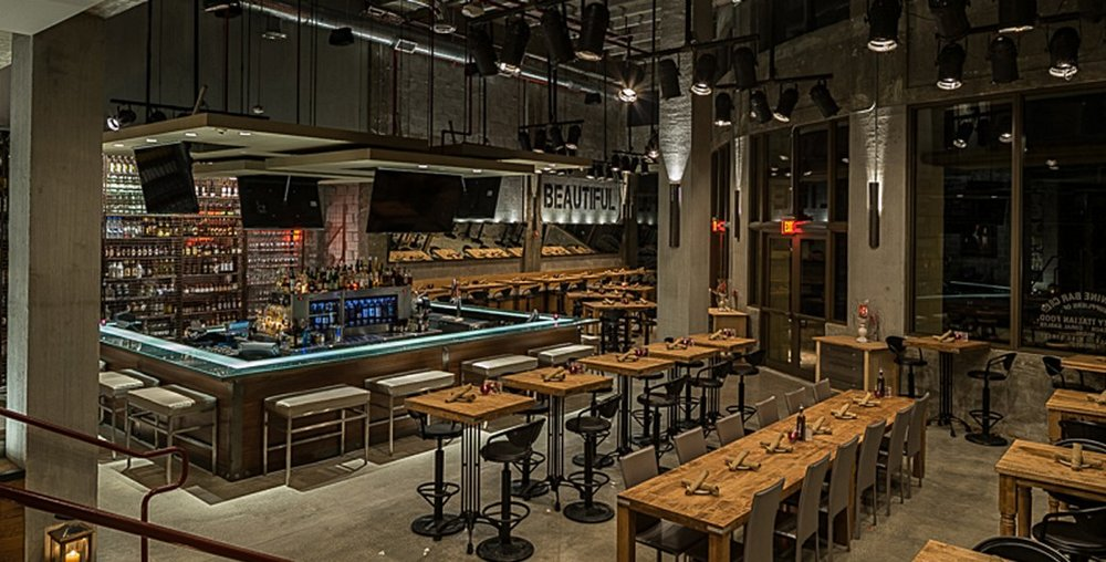 Cibo Wine Bar    ±12,500 sf   200 South Pointe Drive | Miami Beach