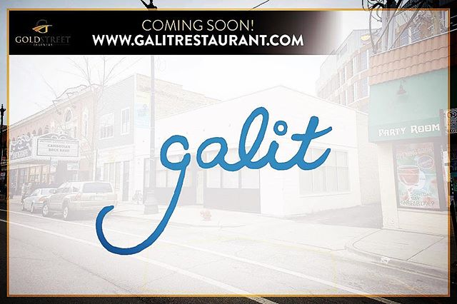 Modern Israeli Cuisine is about to blow your mind Chicago. Coming Soon: Goldstreet Presents @galit_restaurant !!! They are opening in #lincolnparkchicago this Spring (2429 N Lincoln Ave). Can't wait!  #getsome #jamesbeardchef #eatery #foodies #TeamGalit #foodandwine #tenantrep