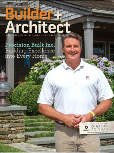 Kris was honored to be the feature builder in Builder Architect Magazine.