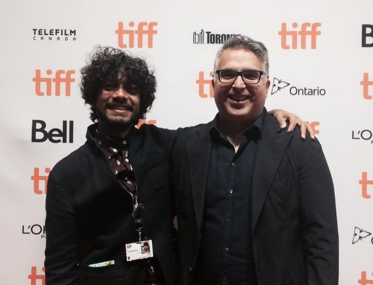 Kunal and Tarique at the World Premiere of  Black Kite  at TIFF 2017