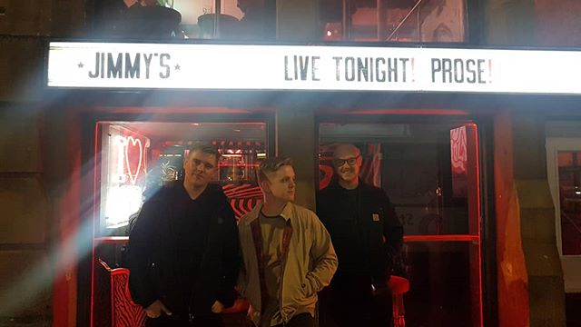 One from our last manny gig!  Got some stuff to announce soon 😌 x
