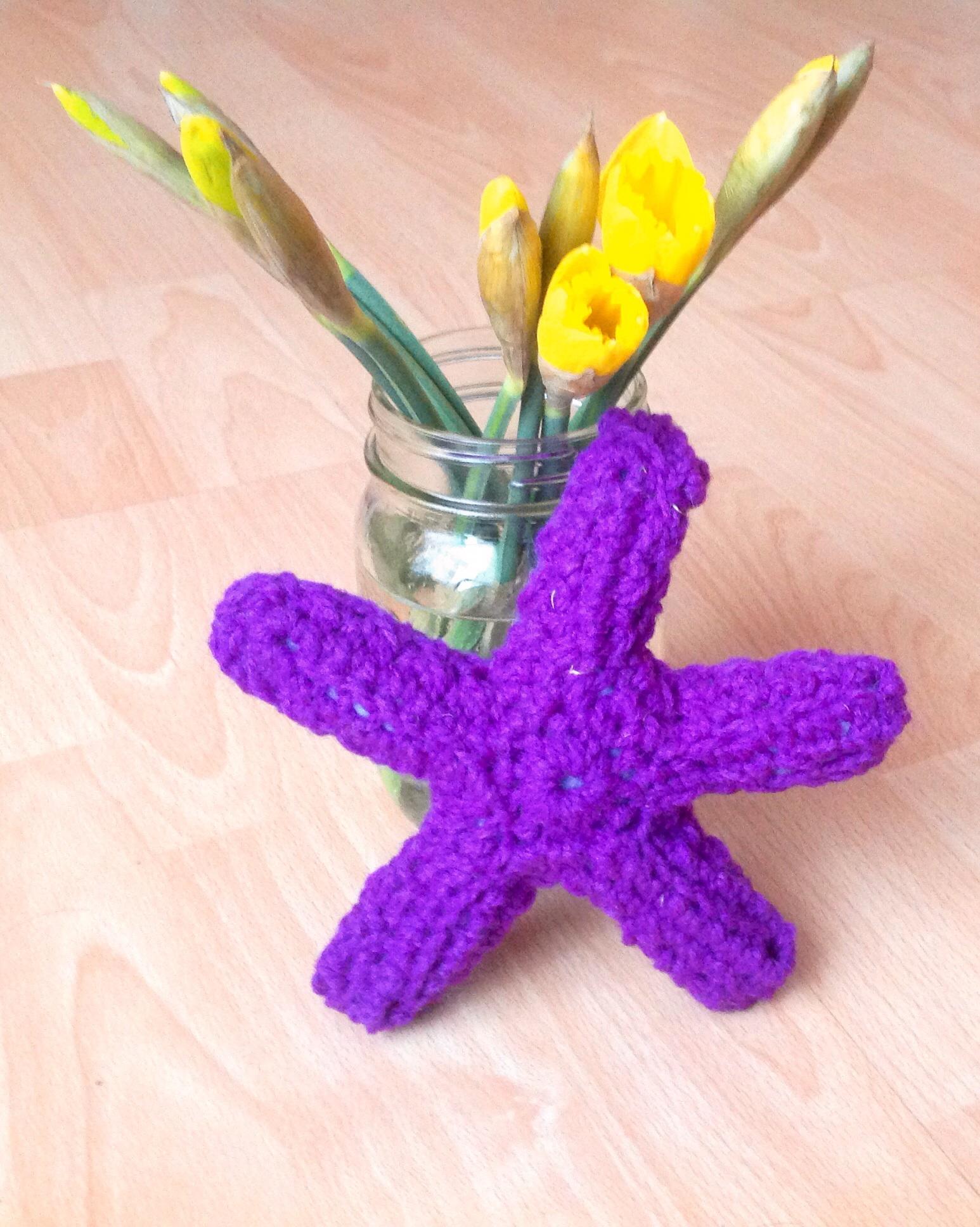 Crochet starfish by Hiphiphurray4Crochet