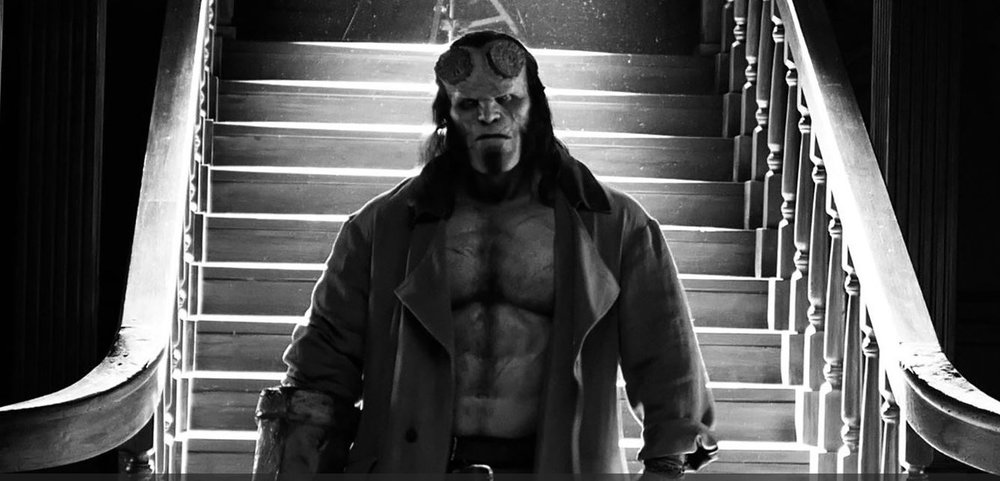 First Look at Hellboy -