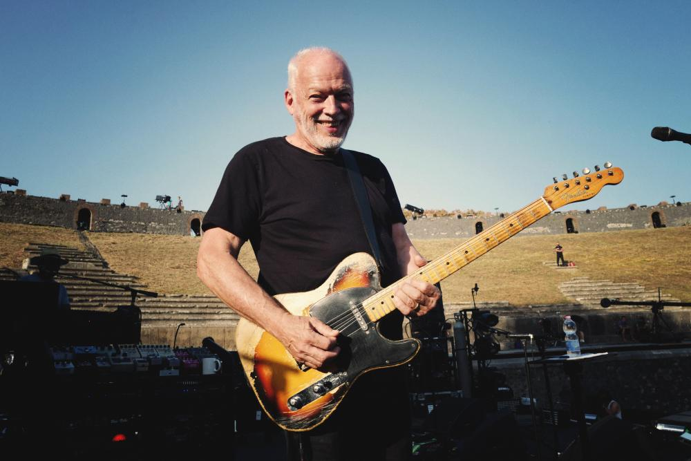 Review: David Gilmour at Pompeii -