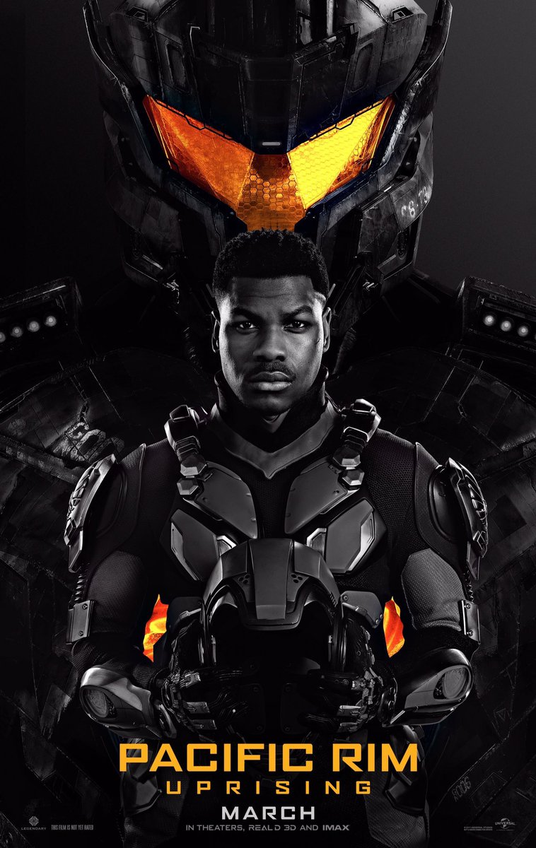 Our first look at John Boyega - Pacific Rim 2 -