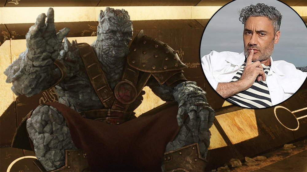 Director Taika Waititi on his hilarious role in Thor Ragnarok -