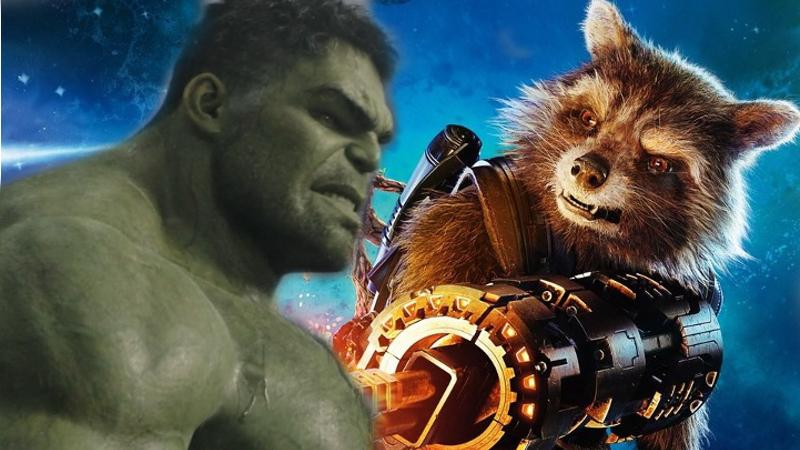 Rocket and Hulk - BFF's -