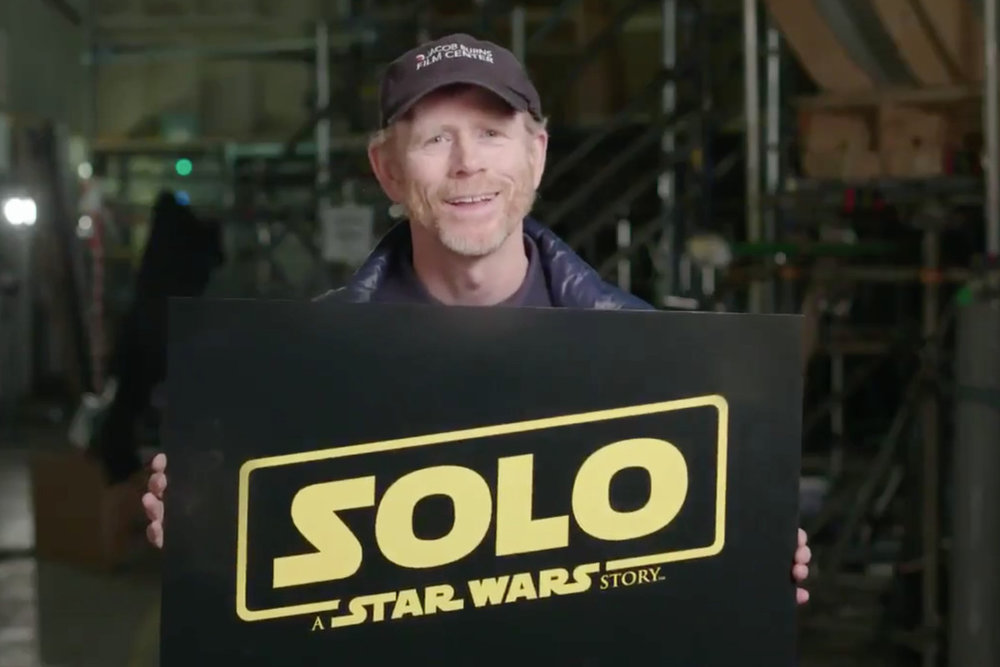 Ron Howard reshot almost all of the Han Solo movie -