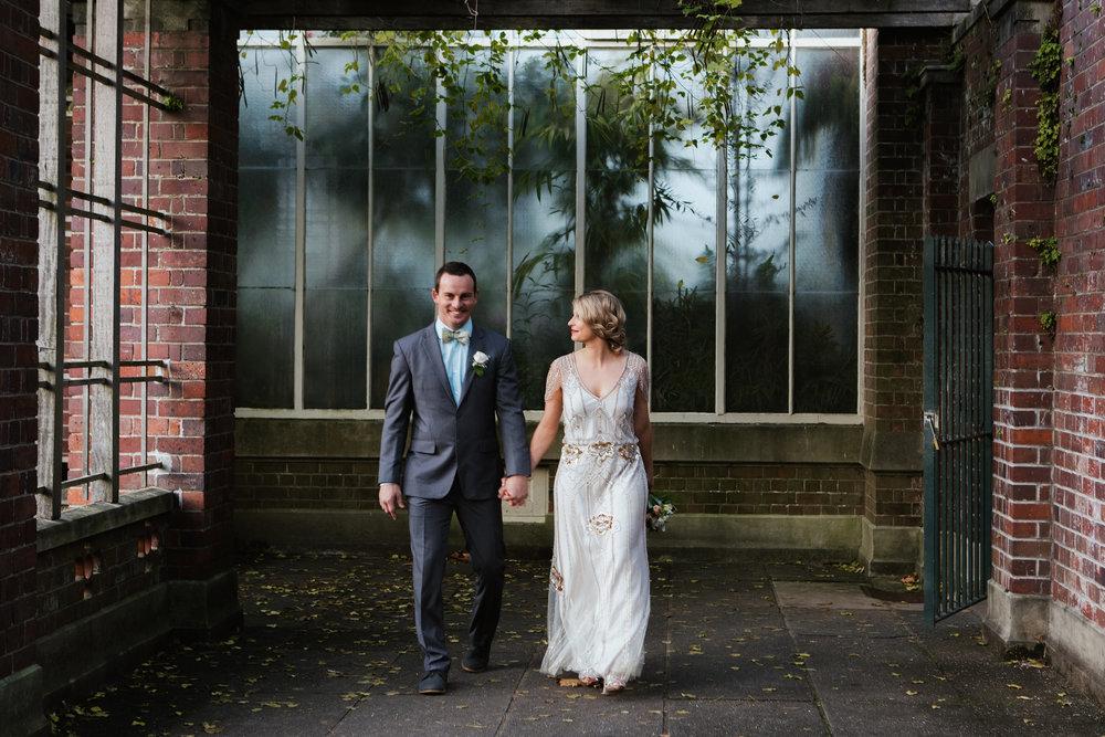 Wedding Photos at Parnell Rose Gardens