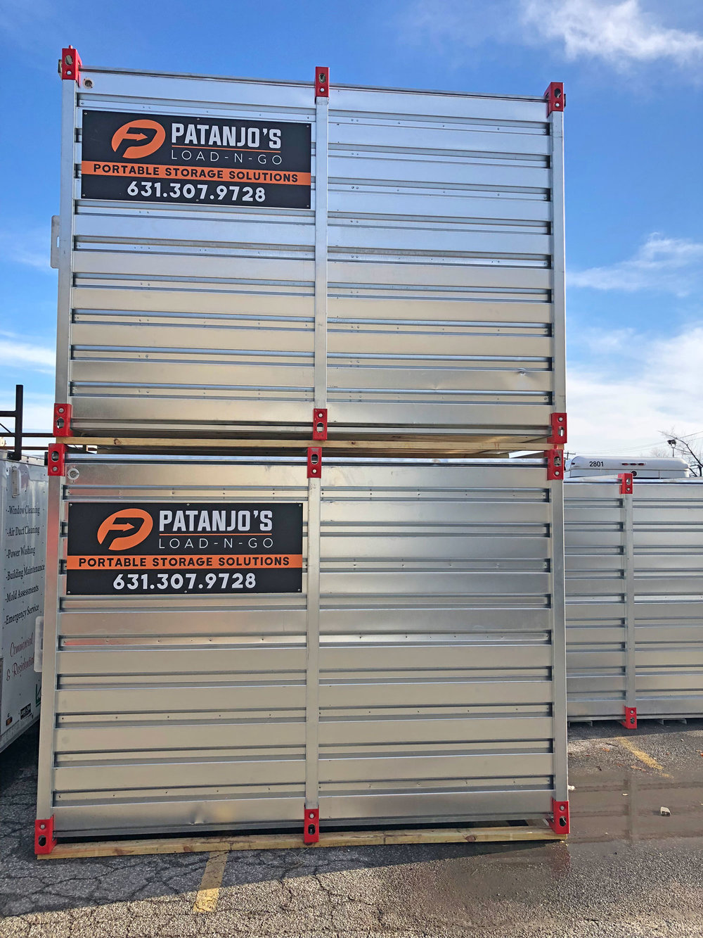 Patanjo's Load-N-Go Portable Storage Solutions