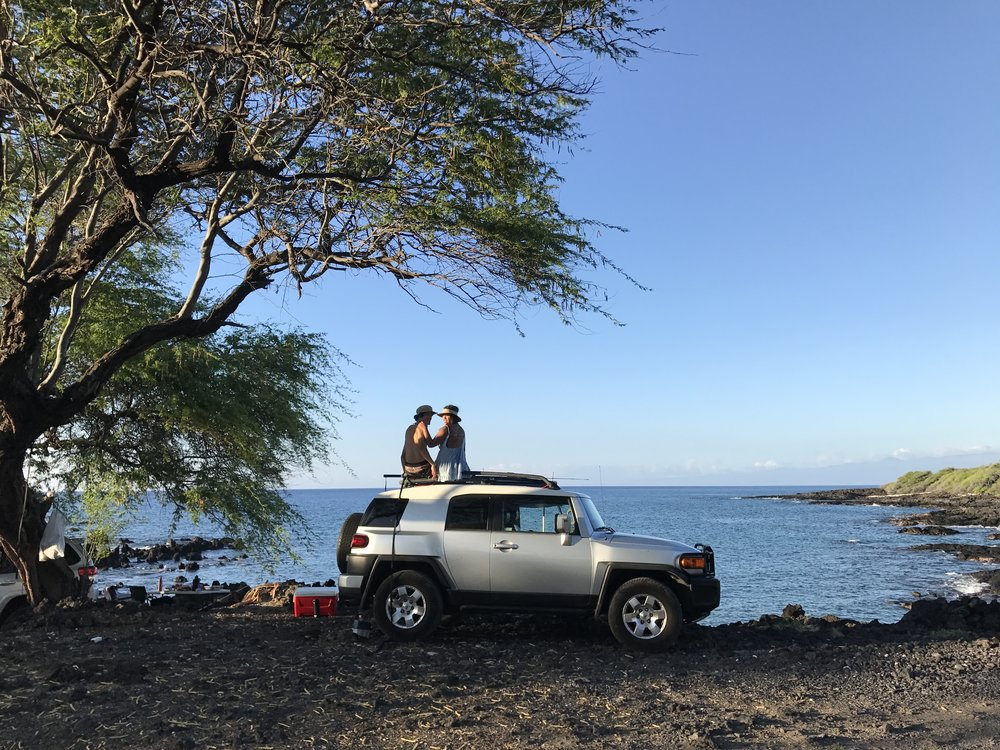 Campin': Makalawena Beach- Summer 2017