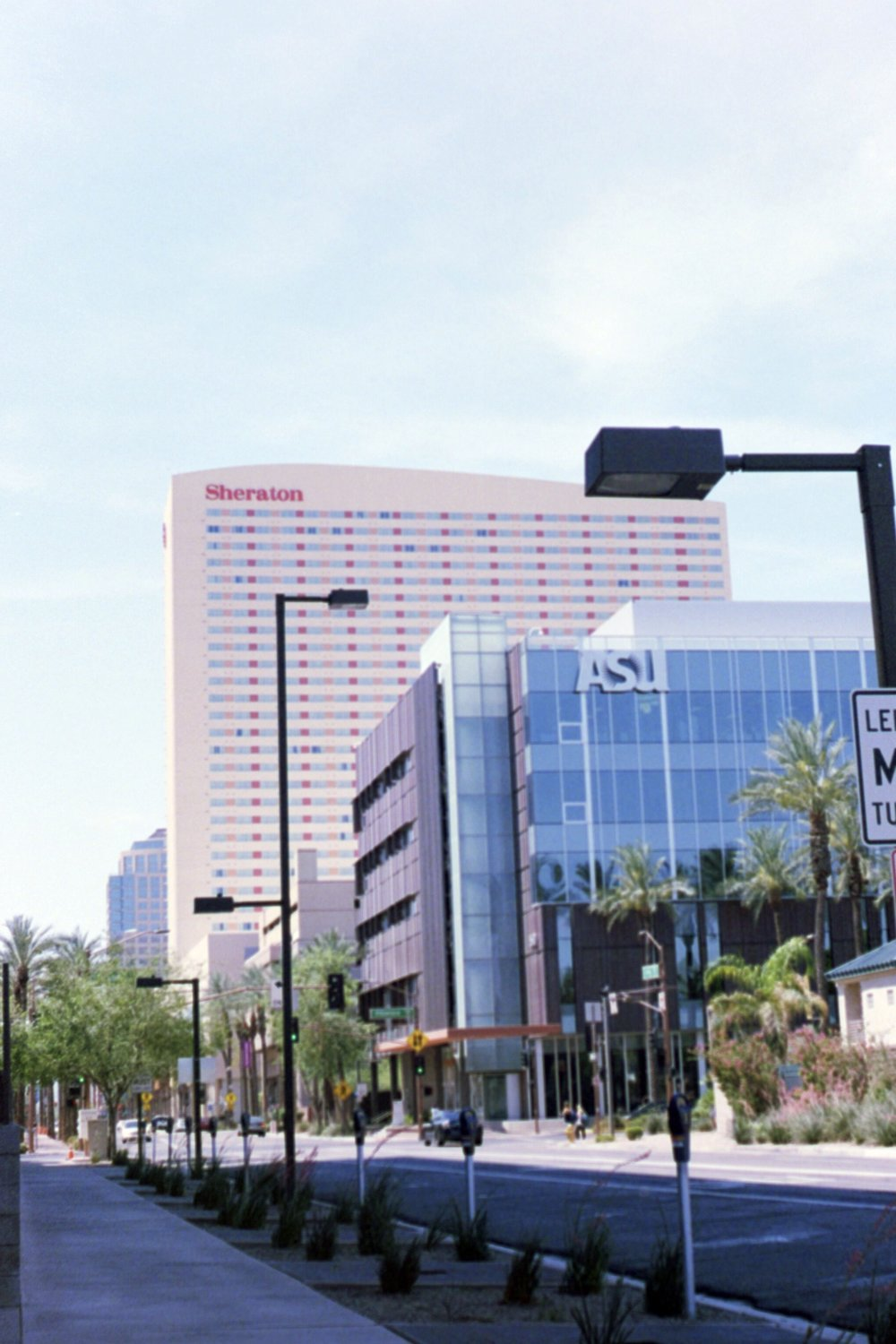 "another from downtown Phoenix. From one of our ""shade stops"" every ten feet or so lol"