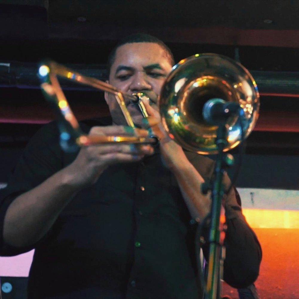 Willie Applewhite trombone -