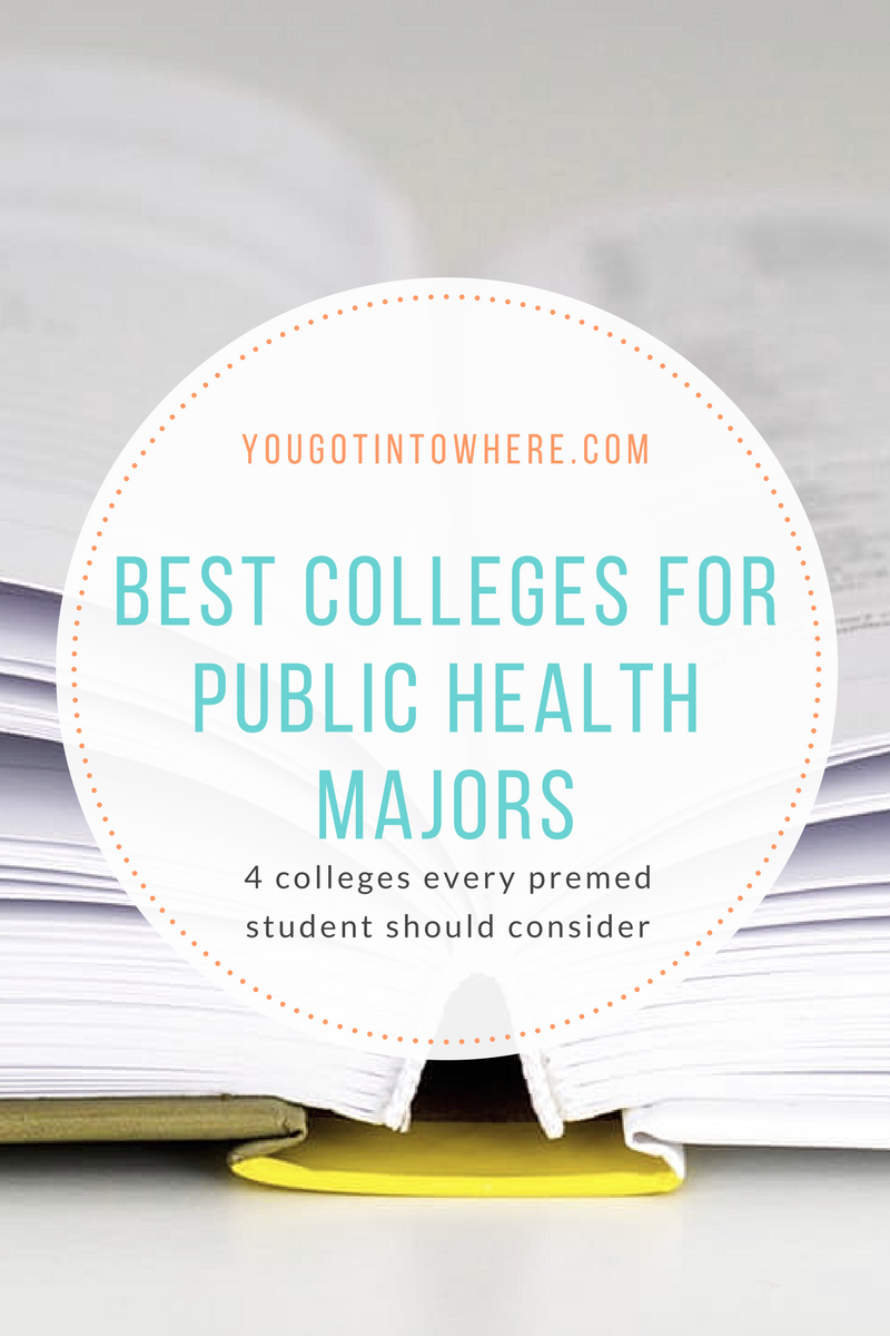 the 5 best colleges for the public health major you got into where