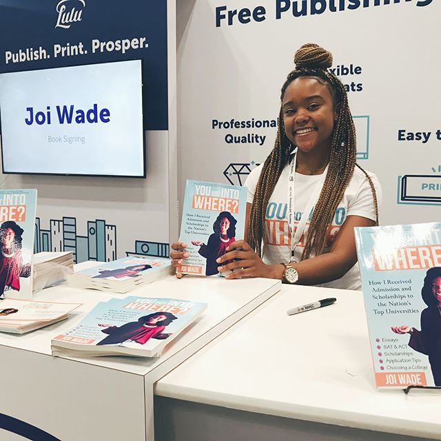BOOK CON 2018 WAS A SUCCESS! Thanks @luludotcom for hosting me as one of your featured authors. I was able to have a 2 hour book signing and give away 40 books. Shout out to the amazing students who stopped by and grabbed their copy of @yougotintowhere! 📚 #bookcon #bookcon2018 #yougotintowhere