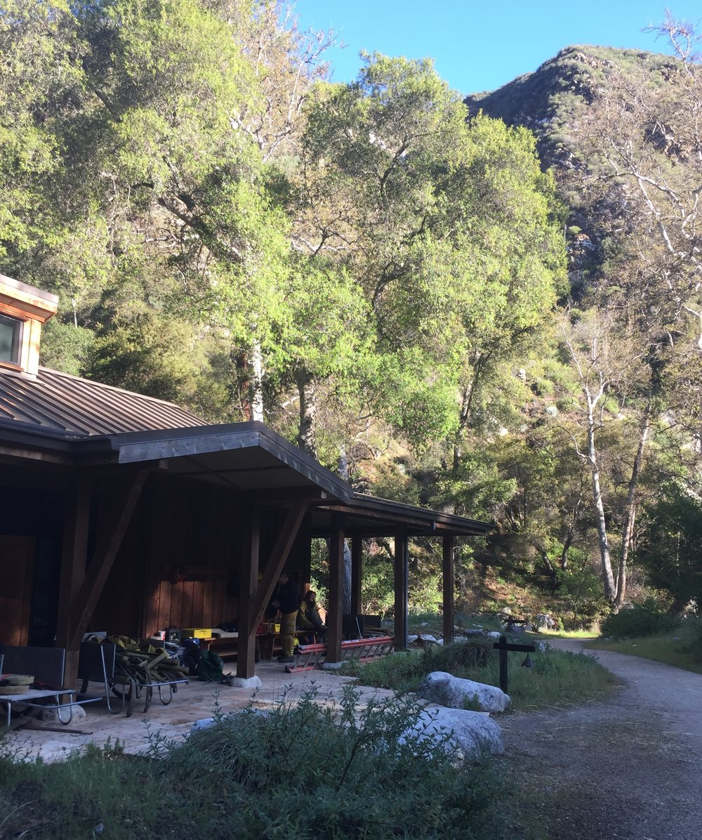 The Retreat Hall at Tassajara Zen Center, where the lecture portion of class was held.