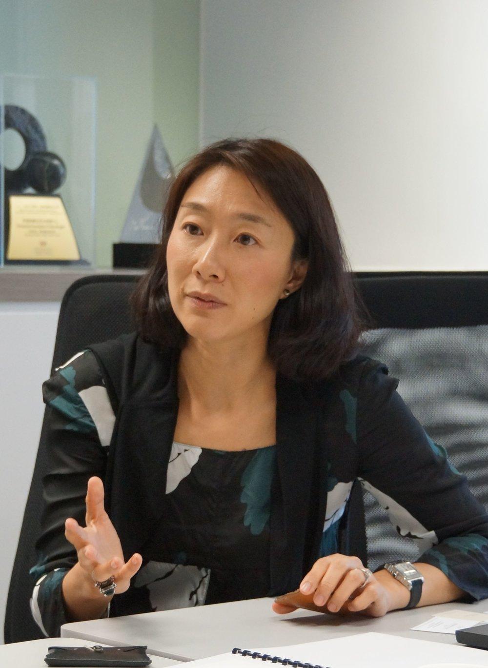 Yan Chan,  Business Development Director, HKRITA