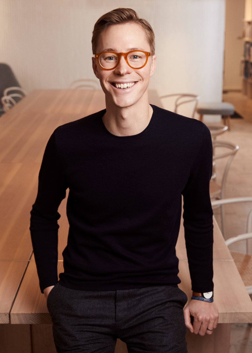 Erik Bang,  Innovation Lead at H&M Foundation