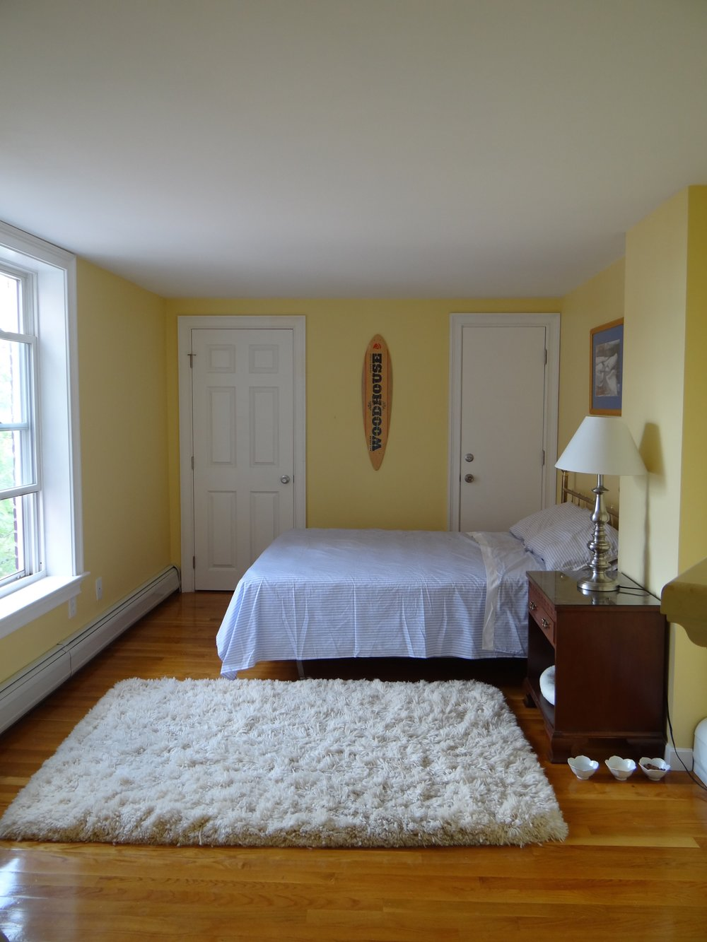 Bedroom V1 - yellow and hand-me-downs.