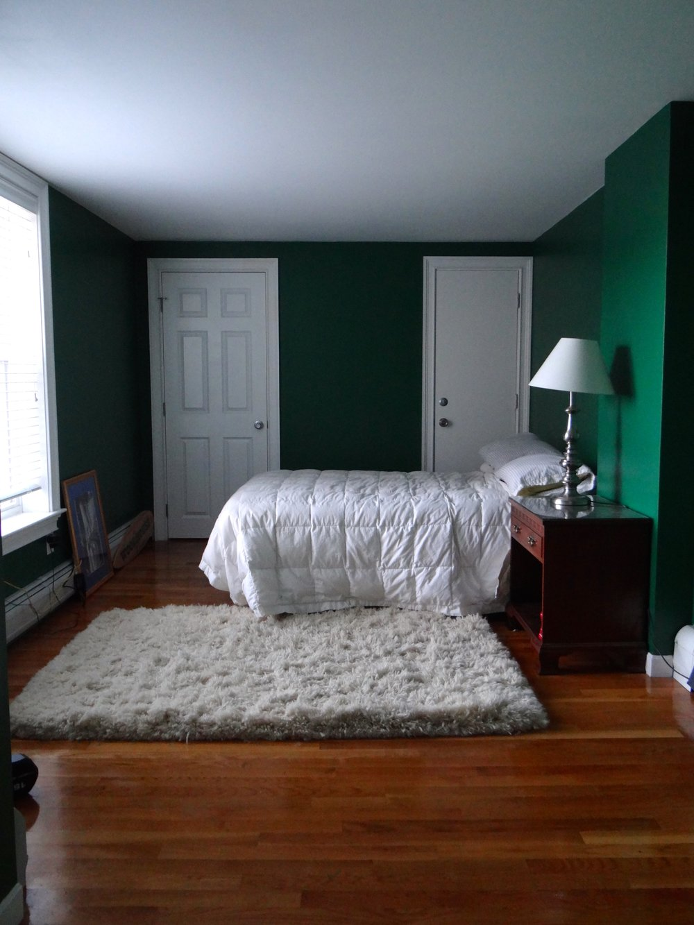 Bedroom V2 - girl, green is not your color