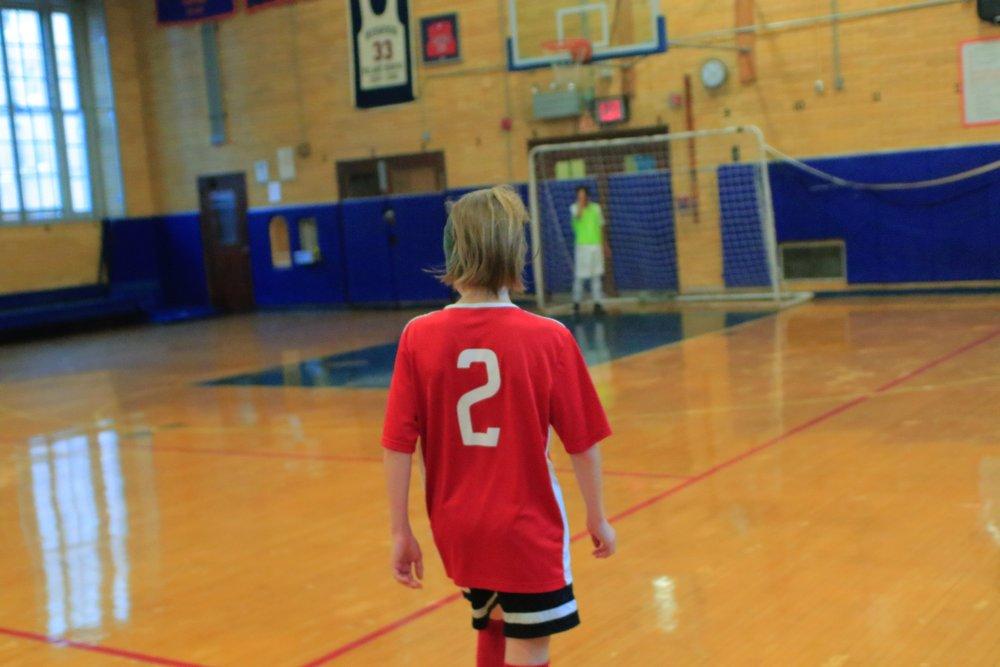 """Sweat Football Club """"Roots"""" Program."""