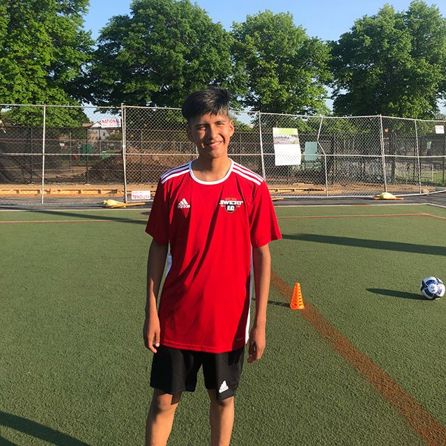 What a beautiful day for some soccer !  #NYCyouthsoccer #SUMMERsoccer #BROOKLYNsoccer #SWEATFCnyc