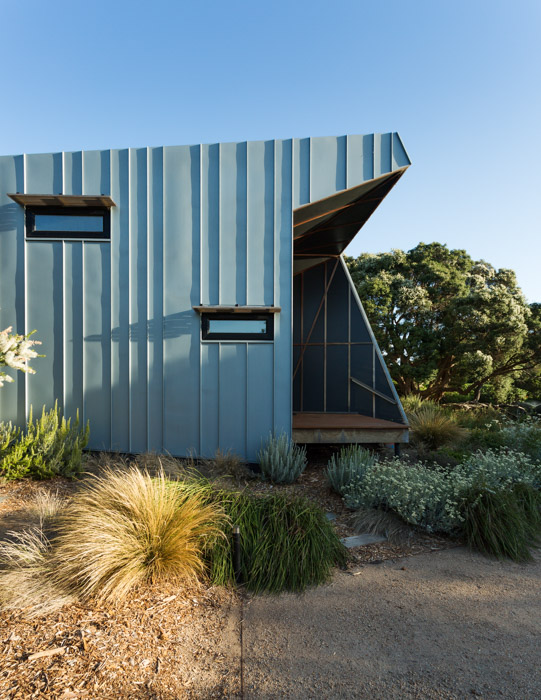 Zinc House - A beautiful, sustainable beach house on the Mornington Peninsula, photographed for Ande Bunbury Architects.