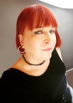 slave tabitha met her one and only Master over fourteen years ago and has never looked back! she is Southwest Leather Bootblack 2009 and International Ms Bootblack (IMsBB) 2015. slave tabitha is the first transgender woman to earn the title in a 30 years of International Ms Leather (IMsL) organization.