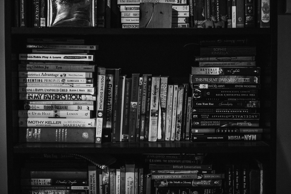 Books - I love reading. When I was pregnant with my first (and actually had time!) I would go to a local bookstore curl up and read for hours or, if time was more limited, I would just walk along, scanning book titles, reading paragraphs here and there, and always always sticking my nose in and enjoying the  new book smell .