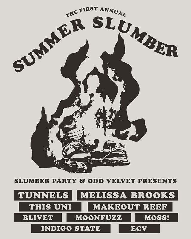 Summer is finally here, come slum it with us and @slumberpartypresents at the Fullerton Day of Music on June 21st. #summerslumber #fullertondayofmusic #summerishere