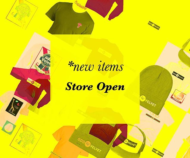 *new items - Now in store #findthevelvet #newitems #independentartists #culture #collection