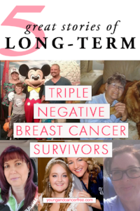 Stories of Long Term Triple Negative Breast Cancer Survivors
