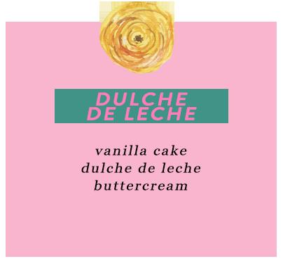 Custom Cake Designer Los Angeles dulche de leche vanilla cake dulche de leche buttercream