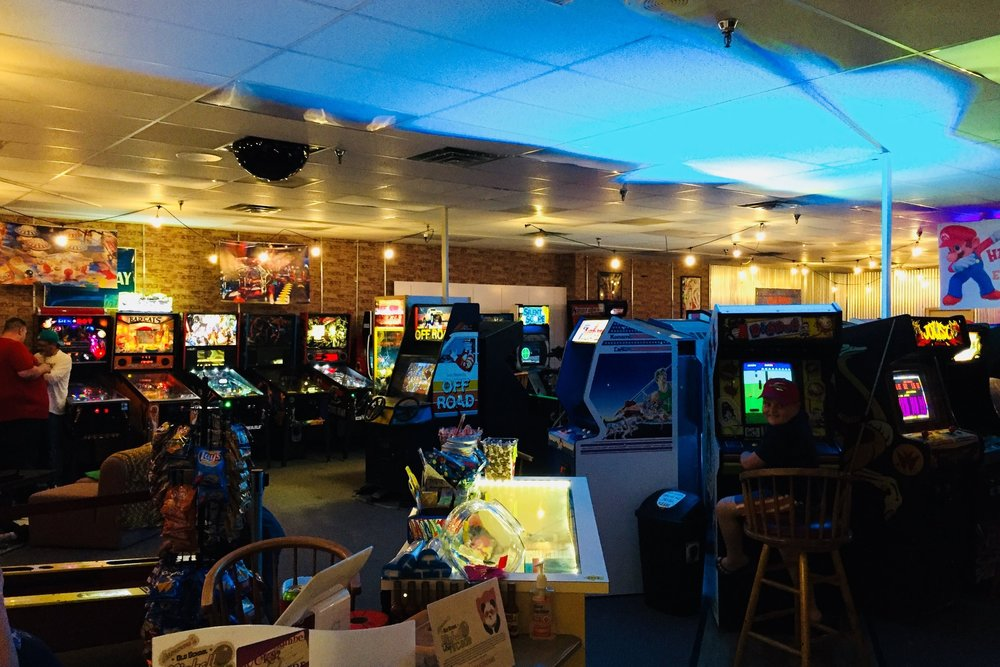 Beat a high score at  Ottumwa's Old School Pinball & Arcade
