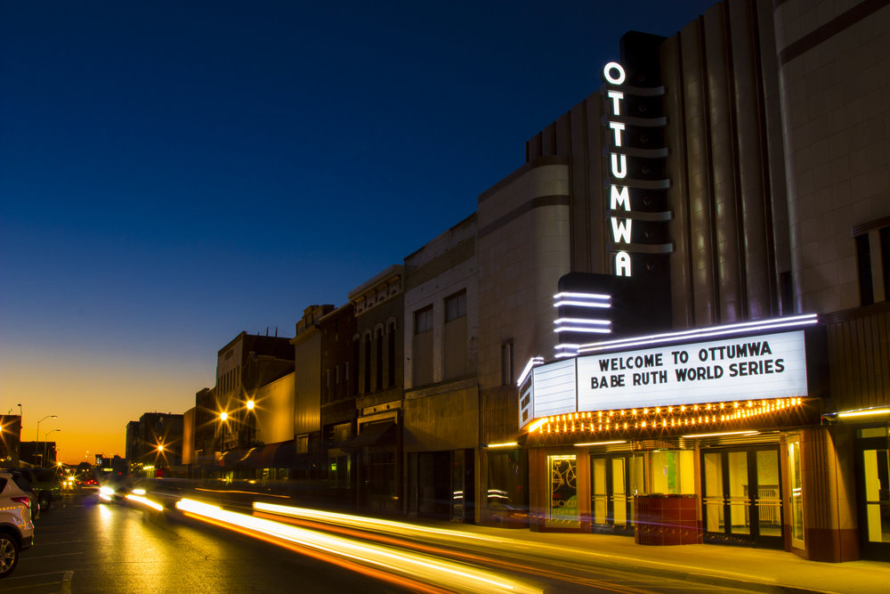 Explore more than 40 local shops and restaurants on  Ottumwa's Main Street