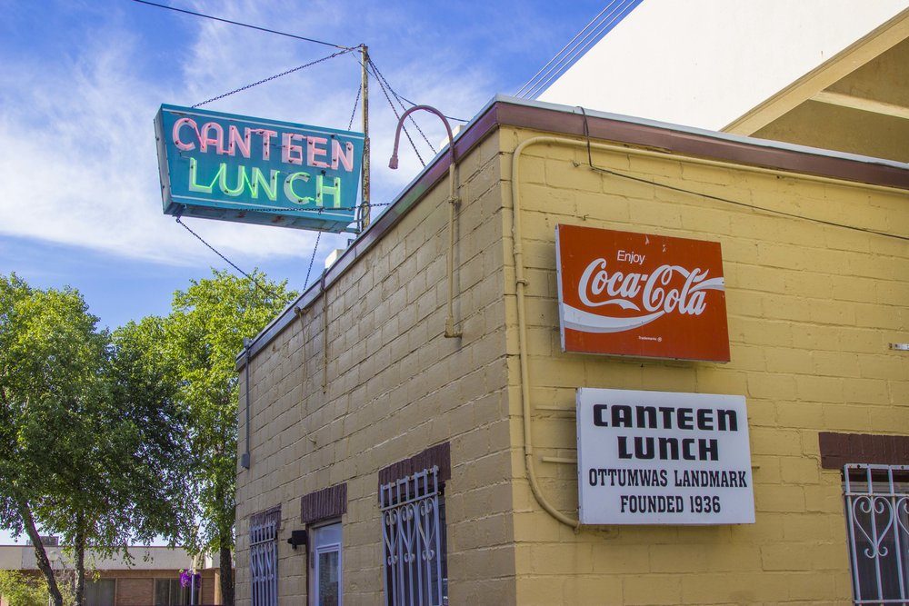 Sink you teeth into a Canteen at the world famous  Canteen Lunch in the Alley