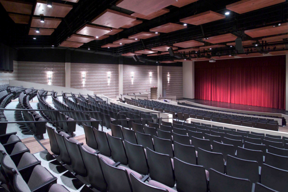 Enjoy a show or strike up a tune in the musical park at the  Bridge View Center