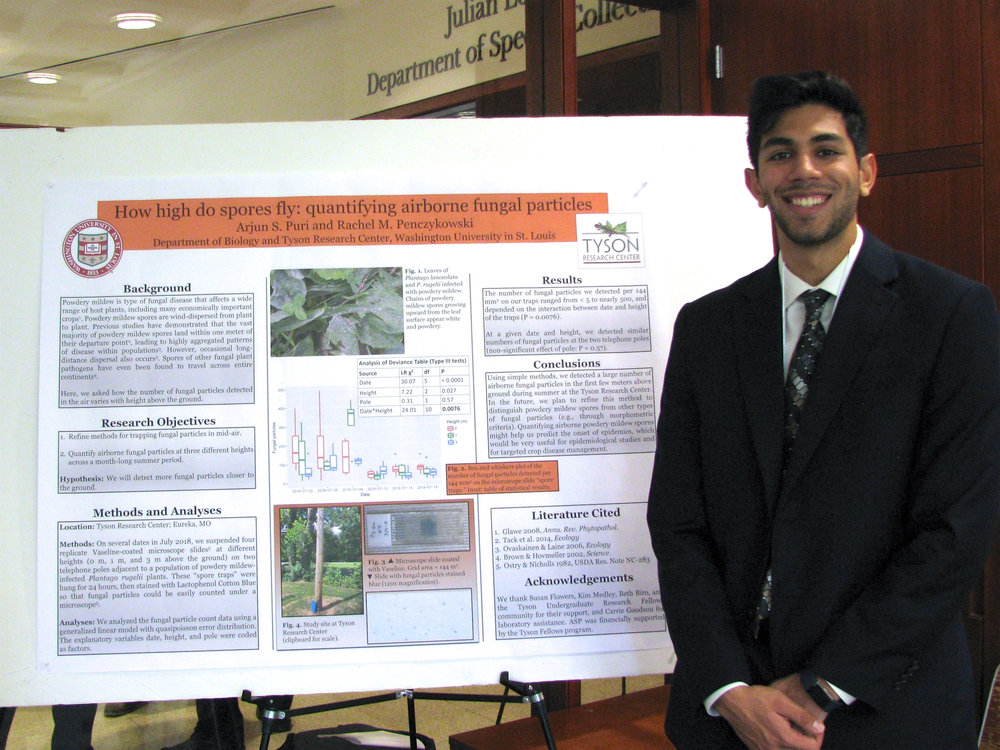 Undergrad Arjun Puri