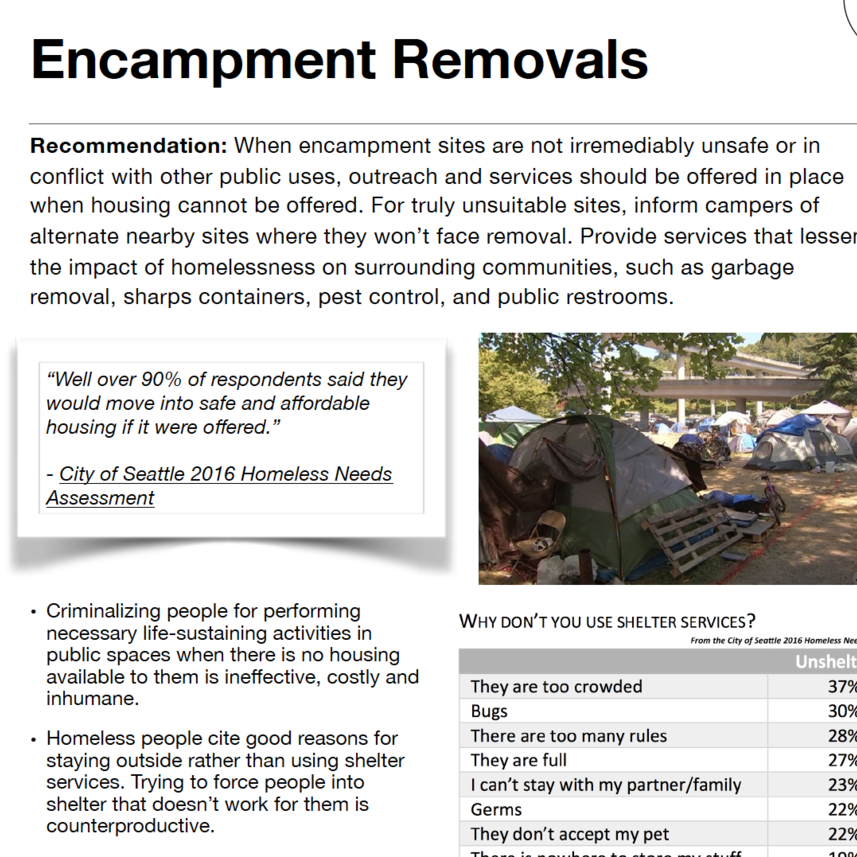 Encampment Removals