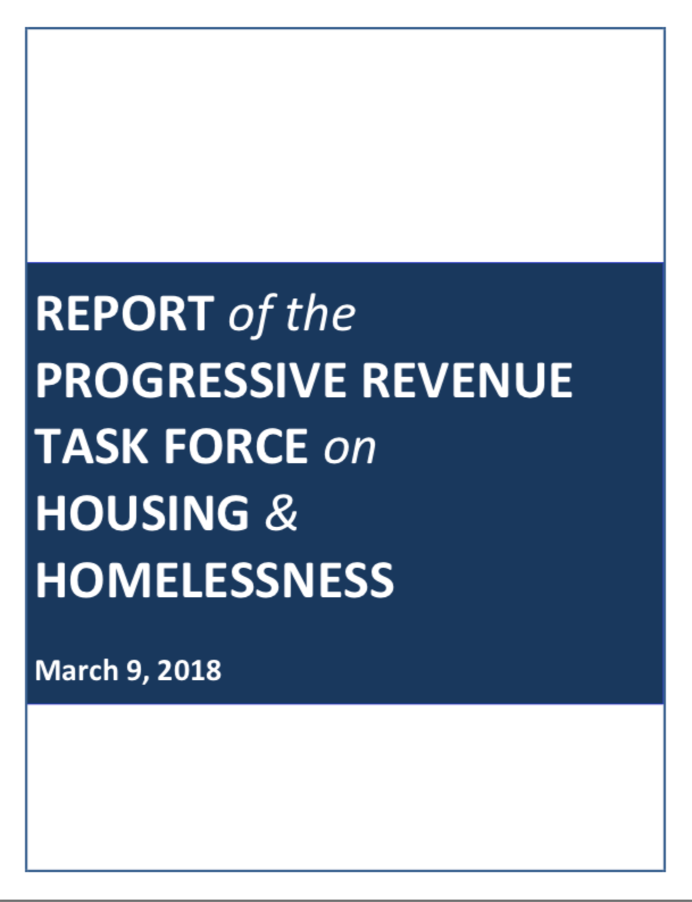 Click on the image to read the final report of the Progressive Revenue Task Force.